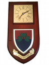 24 Irish Battery RA Royal Artillery Regimental Wall Plaque Clock